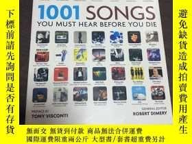 二手書博民逛書店1001罕見SONGS YOU MUST HEAR BEFORE