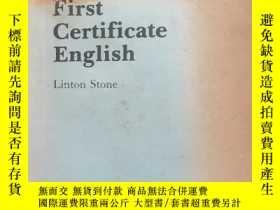 二手書博民逛書店New罕見Cambridge First Certificate