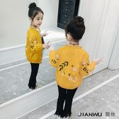 兒童洋氣童裝小女孩上衣短款夾克春裝