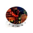 【收藏天地】台灣紀念品*開瓶器冰箱貼-九份街道/小物 送禮 文創 風景 觀光  禮品