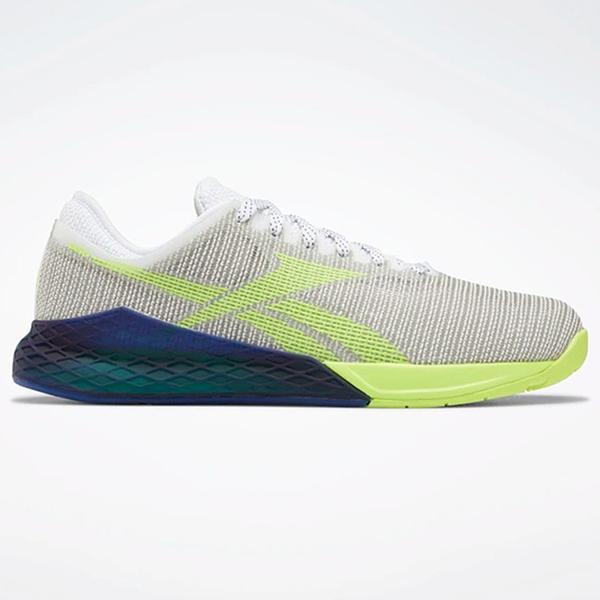 REEBOK NANO 9 MEN'S TRAINING 男鞋 慢跑 訓練 穩定 支撐 耐磨 透氣 灰 綠【運動世界】EG3304