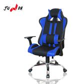【JUNDA】GT580電競椅/電腦椅/賽車椅(二色任選)炫彩藍