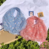 紗刺繡小雛菊可愛購物袋手提包包小清新【匯美優品】