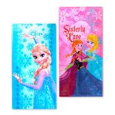 迪士尼冰雪奇緣系列童巾 安娜+艾莎 毛巾 擦汗巾 洗臉巾