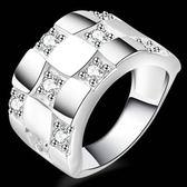 925純銀戒指 鑲鑽-精選流行生日聖誕節禮物女配件73aq5[巴黎精品]