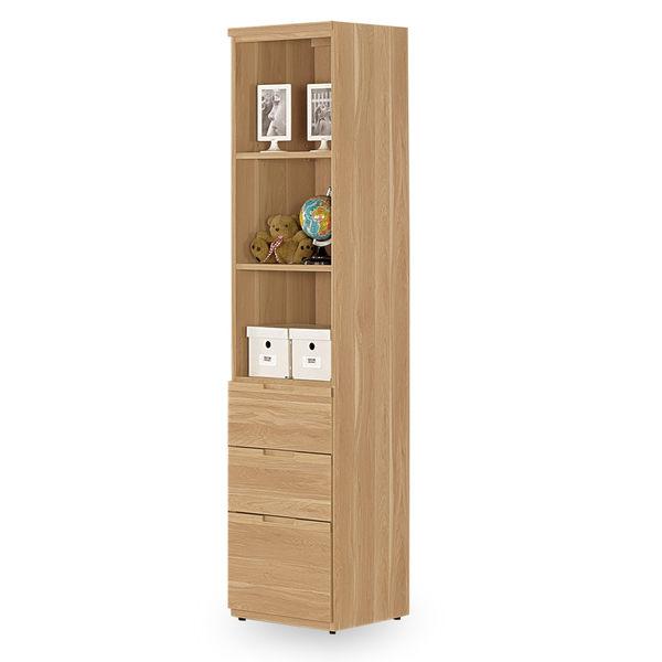 書櫥【時尚屋】[C7]柏納德1.3尺書櫥C7-893-2免組裝/免運費/書櫥