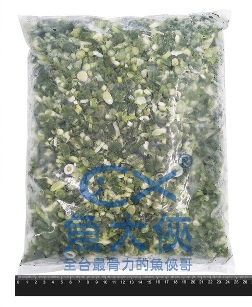 1J5B【魚大俠】AR070曲辰冷凍青蔥(1kg±5%/包)