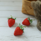 【BlueCat】仿真水果 草莓 (3入...