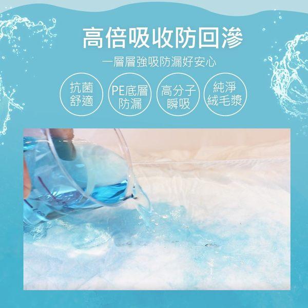 【勤達】成人尿片-替換式尿片(立體防漏隔邊) 21x50cm◆30片/包