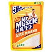 威猛先生愛地潔地板清潔劑補充包-檸檬1800ml【愛買】