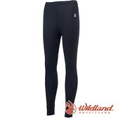 【wildland 荒野】女 Highest彈性保暖褲『黑色』H2673 戶外 休閒 運動褲 冬季 保暖 禦寒