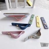 推拉式手機指環扣桌面支撐支架多功能殼卡扣純色【小檸檬3C】