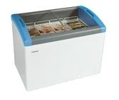 丹麥Elcold 冷凍櫃 圓弧形展示冰櫃【3.5尺 冰櫃】型號:FOCUS-106