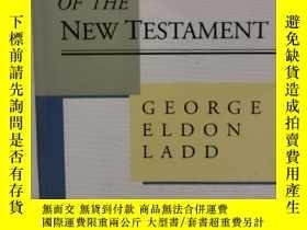 二手書博民逛書店A罕見Theology of the New Testament