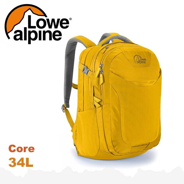 【 LOWE ALPINE 英國 Core 34 休閒後背包《金黃》34L】FDP-44/雙肩背包/電腦包/登山包/通勤上班★滿額送