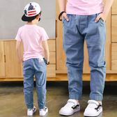男童防蚊褲 兒童薄款棉麻休閒長褲