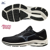 MIZUNO WAVE RIDER 24 男鞋 慢跑 路跑 U4ic ENERZY中底 避震 黑【運動世界】J1GC200347