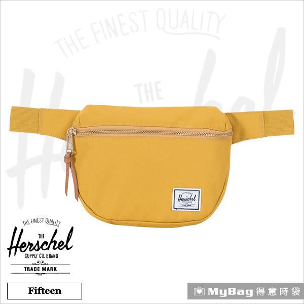 Herschel 腰包 肩包 斜背包 芥末黃 Fifteen-2074 得意時袋