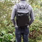 真皮後背包-黑色大容量牛皮簡約男雙肩包73xy21【巴黎精品】