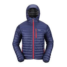 RAB 英國 | 男款 Microlight 保暖羽絨外套 | 秀山莊(QDA54)