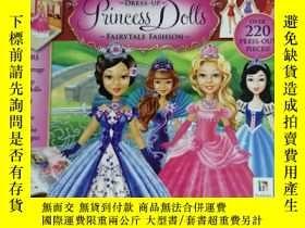二手書博民逛書店MY罕見COOL BOX OF DRESS UP PRINCESS DOLLS兒童讀物 英文版Y42402