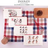 Disney迪士尼米奇90週年限定麻布彩繪手機袋/萬用包