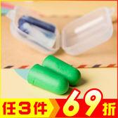(超值2盒)隔音耳塞 睡覺防噪音 防打呼 顏色隨機【AE16121-2】i-style居家生活