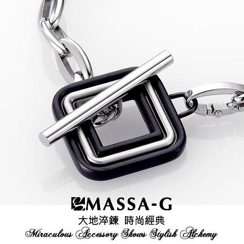 Heliced BLACK 黑色迴旋 鍺鈦項鍊  MASSA-G Deco系列