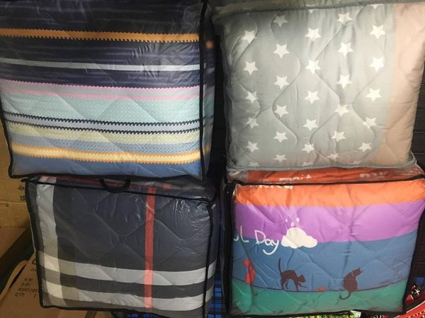 早點名露營生活館 早點名自訂款 M號鋪棉充氣床床包 155*190