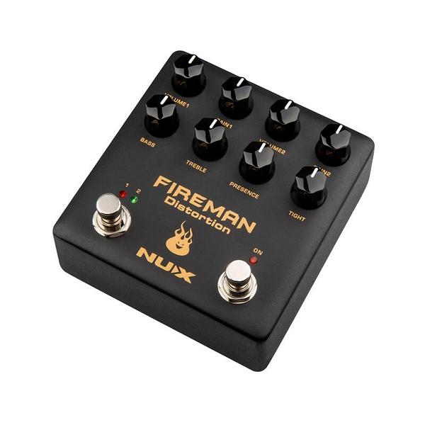 [唐尼樂器] 分期免運 NUX NDS-5 FIREMAN Distortion 電吉他 破音 效果器