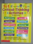 【書寶二手書T2/語言學習_PBN】101Fresh&Fun_Critical-Thinking Activities