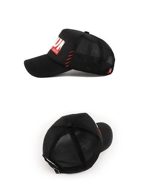 男帽 棒球帽 素色 字母 嘻哈 透氣 網格 可調節 防曬 遮陽帽 運動 棒球帽【JT14937】 BOBI  08/08