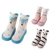 學步鞋 室內鞋襪 防滑顆粒 卡通圖案 寶寶襪 新生兒 透氣 襪子 88271