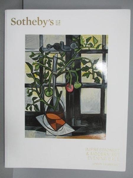 【書寶二手書T5/收藏_PML】Sotheby s_Impressionist&…Evening Sale_20