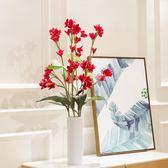 雙十一大促 仿真雞蛋花束 清新花卉客廳臥室辦公桌裝飾擺件假花絹花插花 艾尚旗艦店