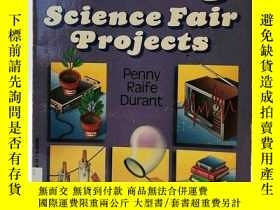 二手書博民逛書店Prize-Winning罕見Science Fair Proj