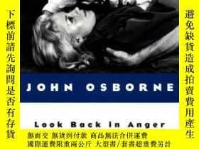 二手書博民逛書店Look罕見Back In Anger-憤怒地回頭看Y436638 John Osborne Penguin