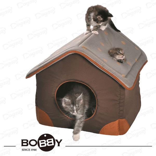 法國《BOBB》香檳泡泡屋S號 躲貓貓 隱蔽性佳 貓床 貓帳篷 貓窩 貓跳台