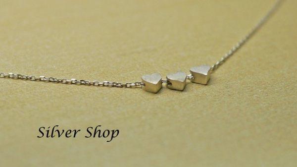 ╭☆ Silver shop ☆╯純銀 S925 套鍊 素銀[ snn 011 ]