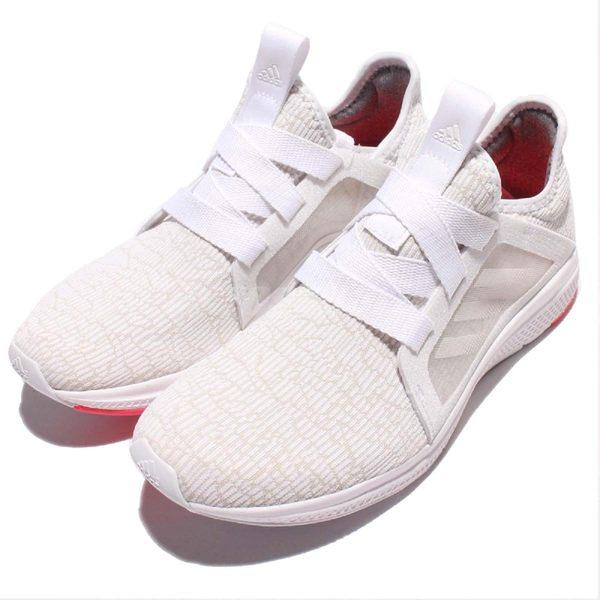 adidas 慢跑鞋 Edge Lux W 白 卡其 Bounce 中底 運動鞋 女鞋【PUMP306】 AQ3471