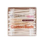 韓國MOTHER-K 100%純棉 安全棉花棒