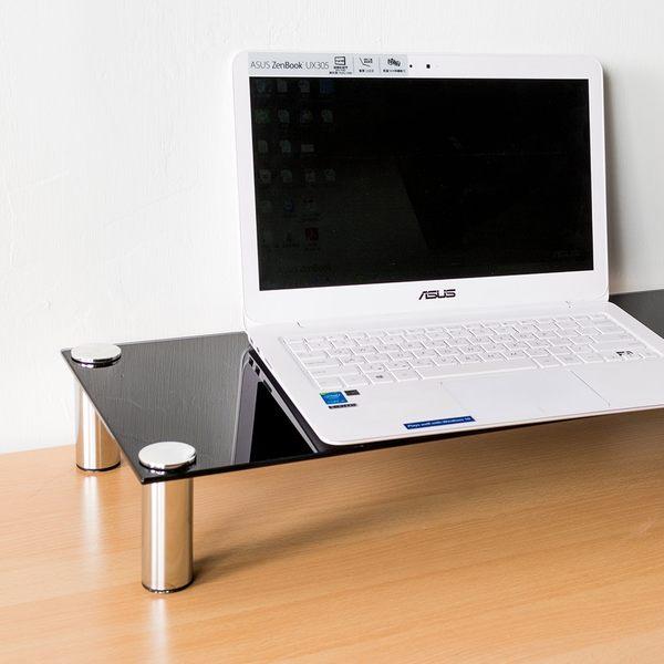 電腦架/增高架/桌上架 防爆強化玻璃螢幕架  dayneeds