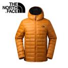 【The North Face 男款 700fp 連帽羽絨外套《橙色》】35E7P3N/羽絨外套/外套/保暖外套