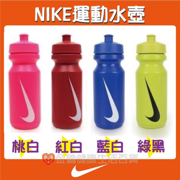 【金鶴健康休閒用品】NIKE 運動水壺 大嘴巴水壺 慢跑 路跑 自行車 單車族