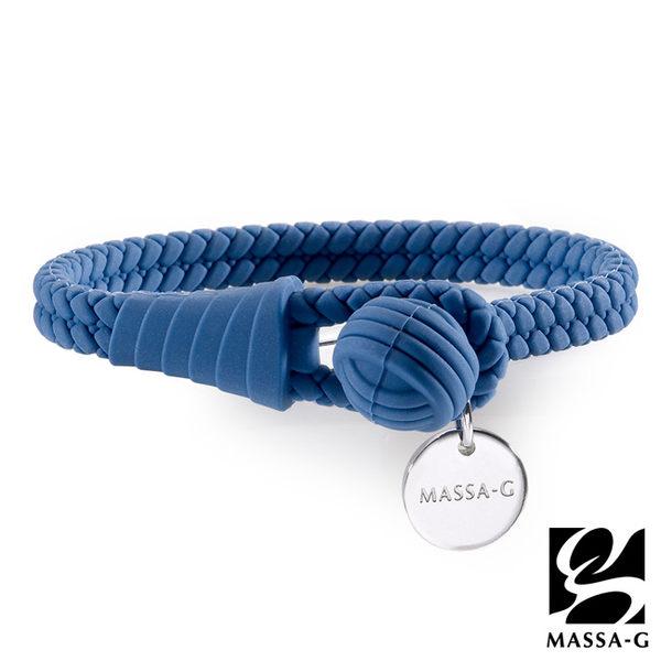 絕色典藏 負離子能量手環/腳環-濱河藍 MASSA-G