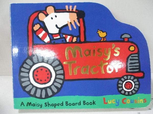 【書寶二手書T9/少年童書_GZC】Maisy's Tractor_Lucy Cousins