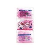 Hello Kitty 超韌牙線棒(50入x3盒)【小三美日】
