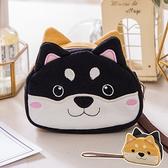 Kiro貓‧柴犬寶寶 雙面造型 雙層 零錢包/小物收納包【820199】