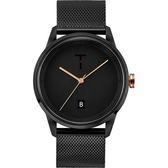 【台南 時代鐘錶 TYLOR】自由探索精神 風格多變時尚腕錶 TLAB010 米蘭帶 43mm