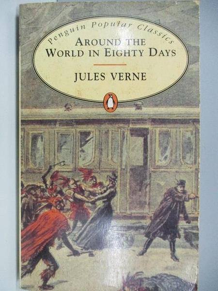 【書寶二手書T6/原文小說_AEA】Around the World in Eighty Days_Jules Verne